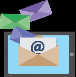 email dari tablet