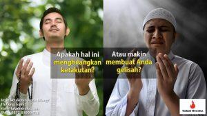 orang gelisah karena raqib dan 'atid