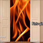 pintu dengan api